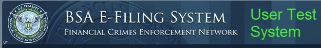 BSA E-Filing User Test System